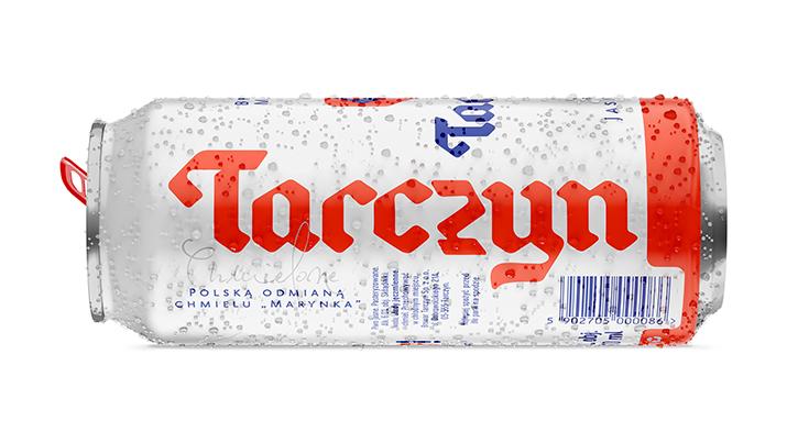 Puszka Browar Tarczyn leżąca